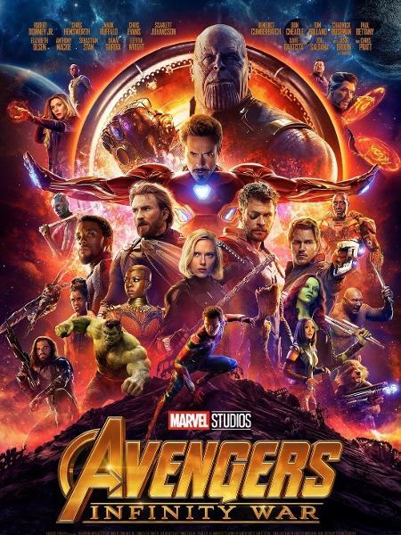 """Poster de """"Vingadores: Guerra Infinita"""" - Divulgação"""