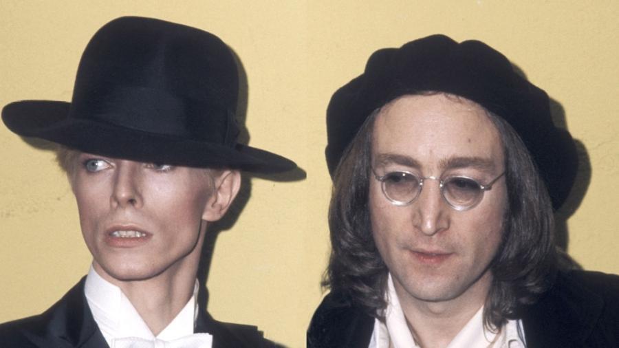 Já imaginou escrever (no computador) com a letra de Bowie ou Lennon? - Reprodução/Getty