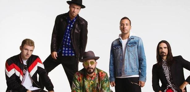 Os Backstreet Boys em 2018