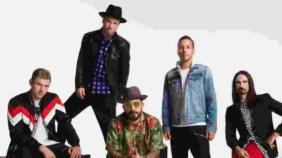 Os Backstreet Boys versão 2018 - Divulgação