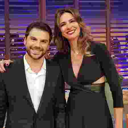 Duda Nagle é entrevistado por Luciana Gimenez no talk show da apresentadora - Divulgação/RedeTV! - Divulgação/RedeTV!
