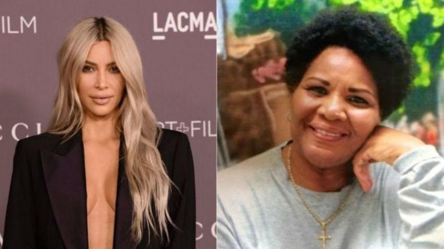 Kim Kardashian defendida a libertação de Alice (à direita) desde 2017 e pediu pessoalmente ao presidente americano para que concedesse perdão judicial - GETTY/CAN-DO CLEMENCY