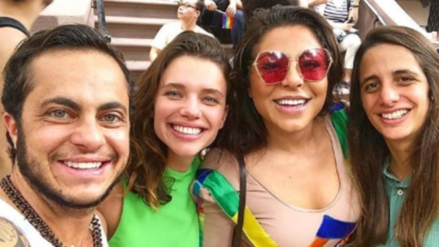 Thammy Miranda, Bruna Linzmeyer, Andressa Ferreira e Priscila Visman - Reprodução/Instagram