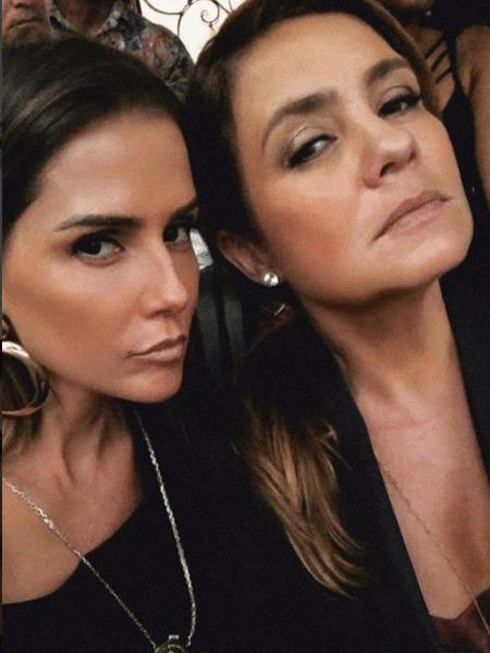 Deborah Secco e Adriana Esteves - Reprodução/Instagram