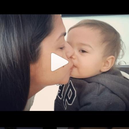 Thais Fersoza e o filho, Teodoro - Reprodução/Instagram