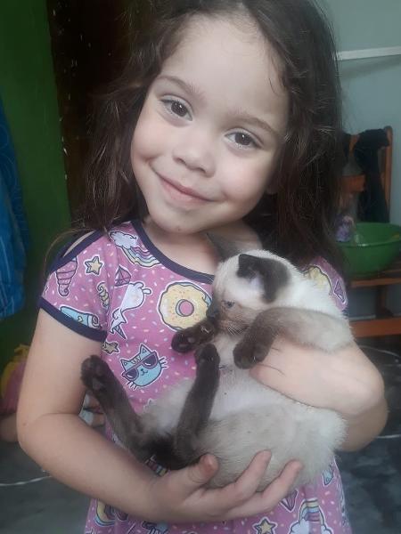 Noemi Isabelly, de 4 anos - Reprodução/Facebook