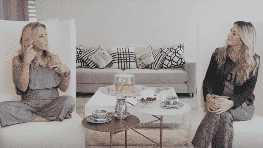 Helô Pinheiro deu uma entrevista para a filha, Ticiane - Reprodução/Youtube
