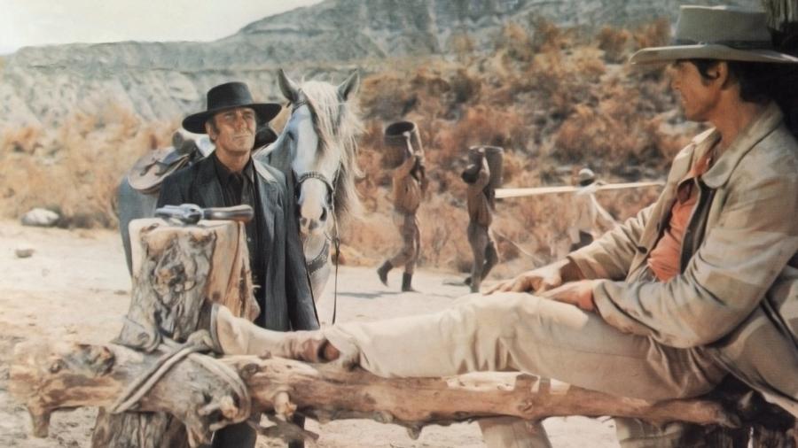 """Cena de """"Era Uma Vez no Oeste"""", de 1968 - Reprodução"""