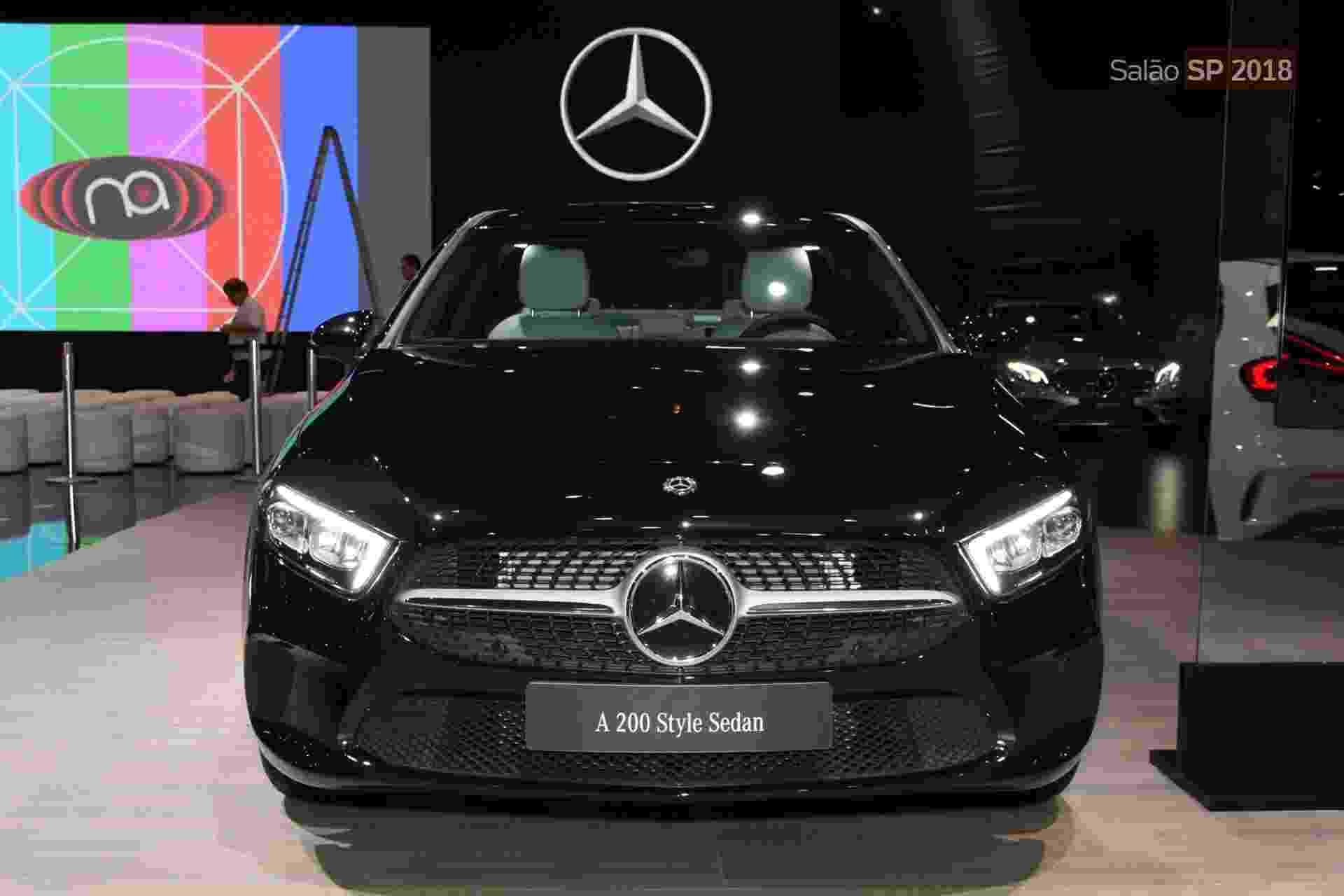 Mercedes-Benz Classe A Sedan - Murilo Góes/UOL