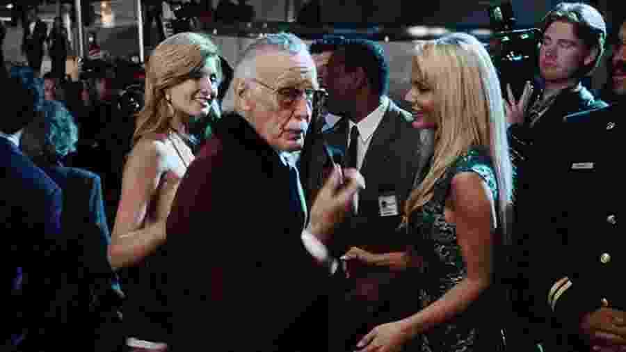 """Participação especial de Stan Lee em """"Homem de Ferro"""", de 2008 - Reprodução"""