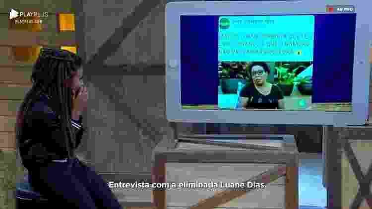 Luane no PlayPlus - Reprodução/RecordTV - Reprodução/RecordTV
