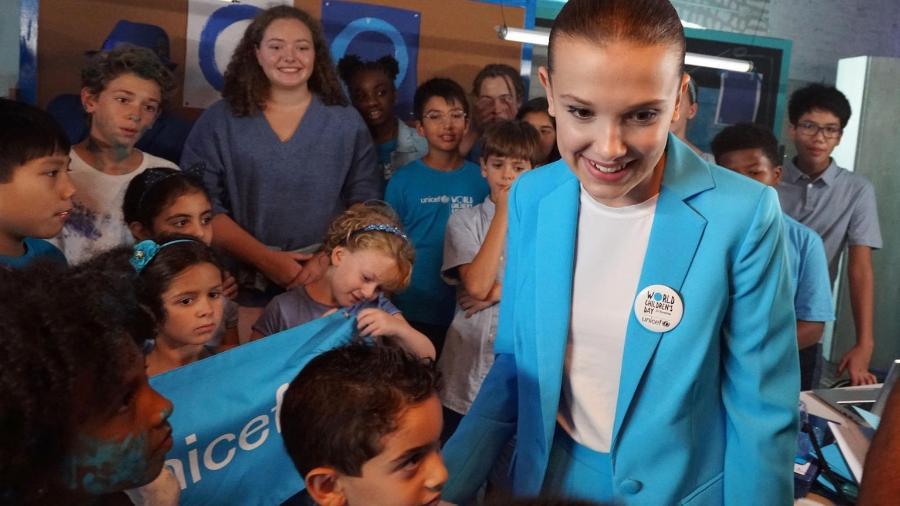 Millie Bobby Brown é mais jovem embaixadora do Unicef - Divulgação