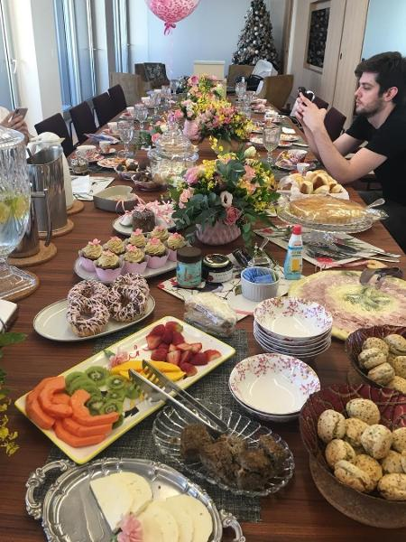 Mãe de Sabrina Sato mostra banquete preparado para recepcionar Zoe - Reprodução/Instagram