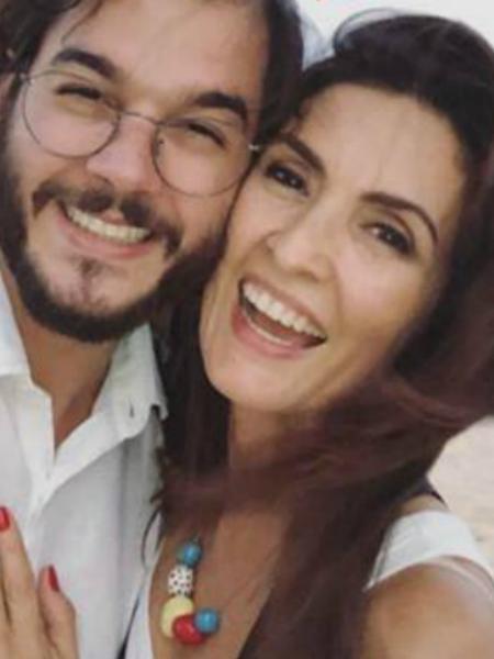 Túlio Gadêlha e Fátima Bernardes se abraçam em Recife - Reprodução/Instagram