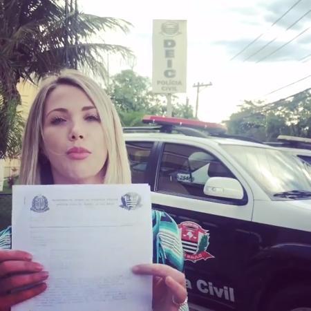 """Erica Reis registra BO contra """"perseguidor"""" em sua rede social - Reprodução/Instagram/souericareis"""