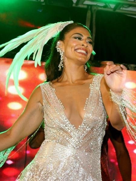 8cefe11d1 Carnaval 2019: Juliana Paes veste fantasia sensual e diz: