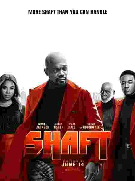 """Pôster do filme """"Shaft"""" - Reprodução/Twitter - Reprodução/Twitter"""
