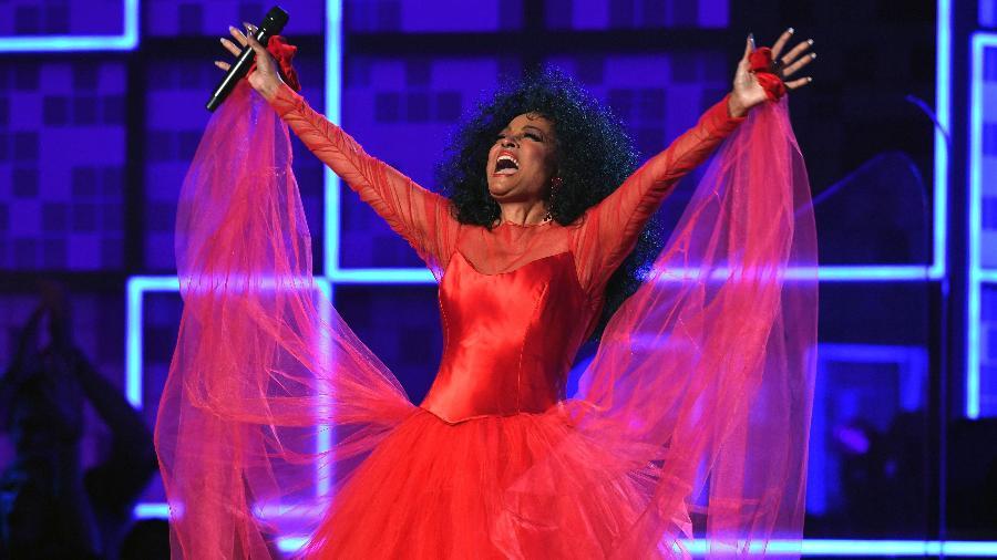 Diana Ross se apresenta no Grammy 2019 - AFP