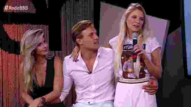 Diego e família - Reprodução/GloboPlay - Reprodução/GloboPlay