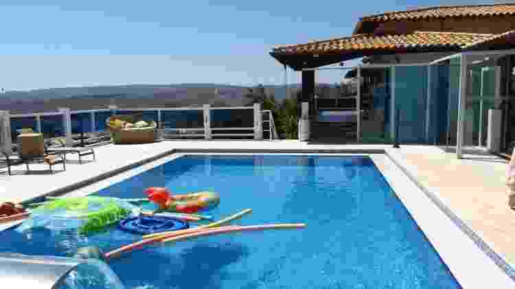 Casa do Airbnb em Capitólio - Divulgação/Airbnb - Divulgação/Airbnb