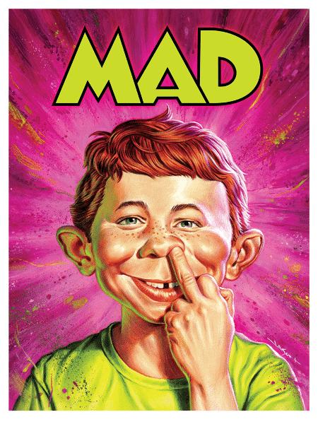 Capa da revista Mad, edição 175, lançada em junho de 2018 - Divulgação