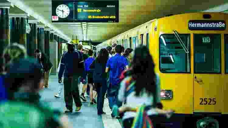 Quem for pego sem passagem em Berlim tem que pagar uma multa de 60 euros - Getty Images