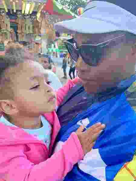 Serena Williams com a filha de 2 anos - Reprodução/Instagram