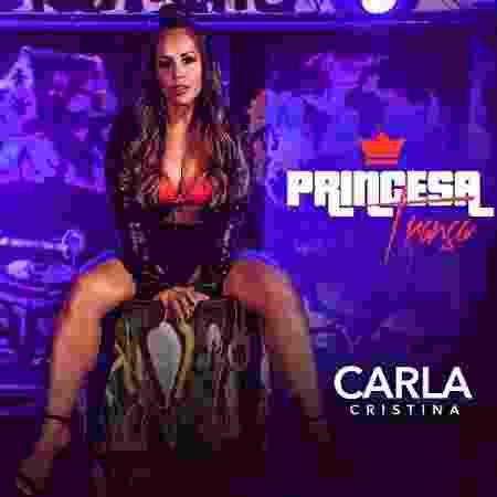 Capa do single Princesa Trança de Carla Cristina - Reprodução/ Instagram