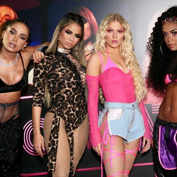 """Anitta, Lexa, Luísa Sonza e MC Rebecca se uniram para lançar a música """"Combatchy"""""""
