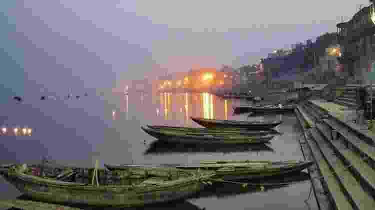 Rio Ganges, Varanasi - Marcel Vincenti/Arquivo pessoal - Marcel Vincenti/Arquivo pessoal