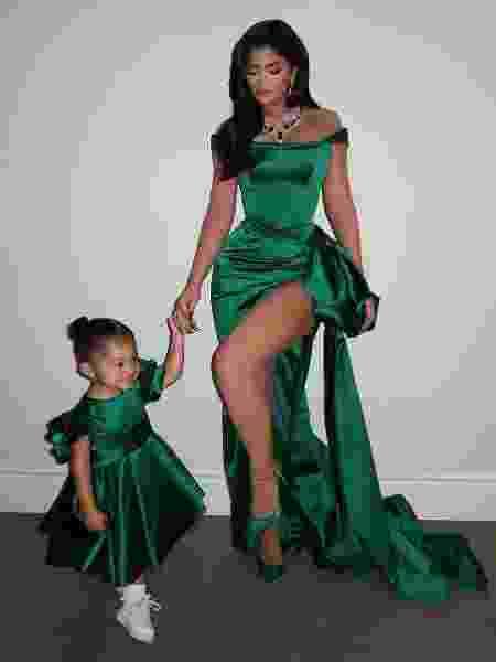 Kylie Jenner com a filha Stormi Webster - Reprodução/Instagram