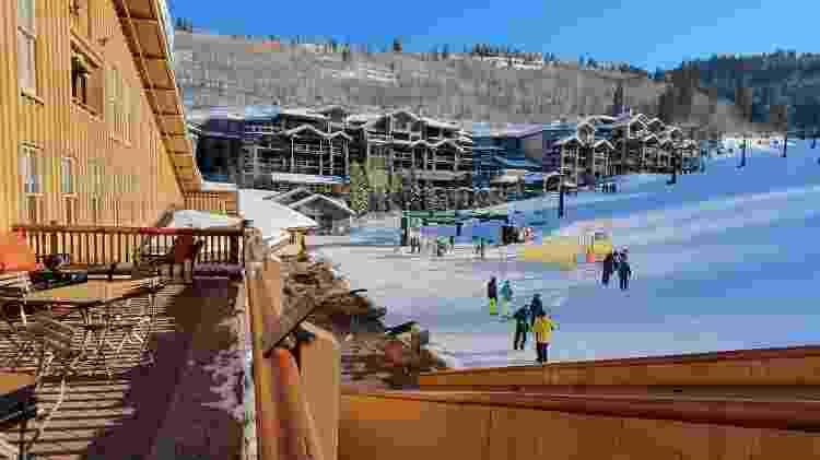 Estação de esqui de Park City - Marcel Vicenti/UOL - Marcel Vicenti/UOL