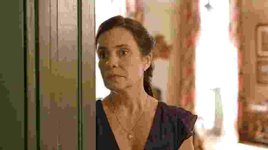 Adriana Esteves em cena de Amor de Mãe. - REPRODUÇÃO/REDE GLOBO