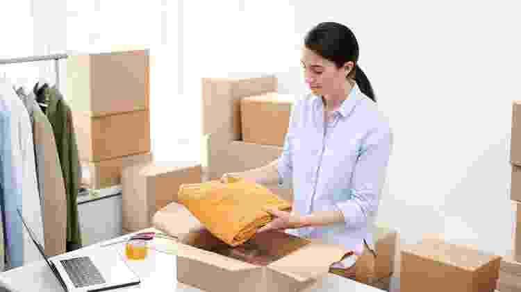 Compra de roupas online - Getty Images/iStockphoto - Getty Images/iStockphoto