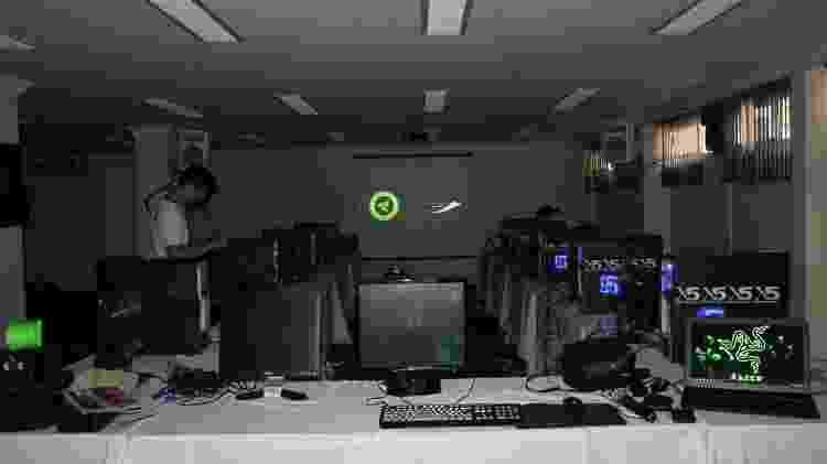 Treinamento paiN - Divulgação/paiN Gaming - Divulgação/paiN Gaming