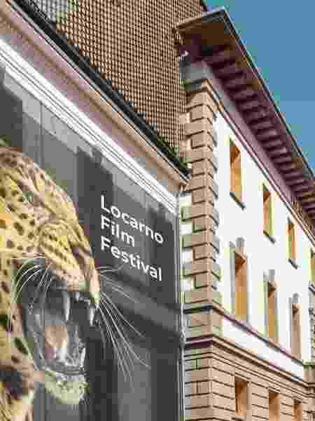 Fachada da Piazza Grande, sede do Festival de Cinema de Locarno na Suíça - Reprodução/Instagram