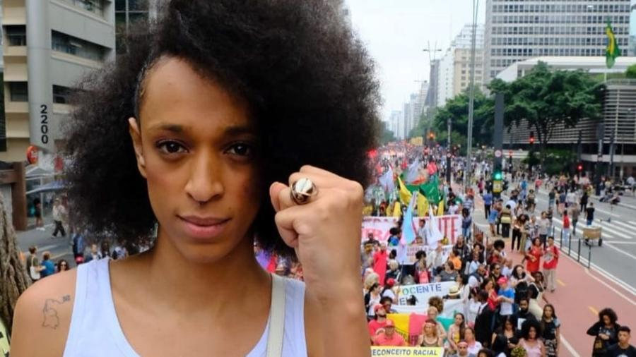 Erika Hilton (PSOL), codeputada da Bancada Ativista e agora vereadora eleita em 2020 - Arquivo Pessoal