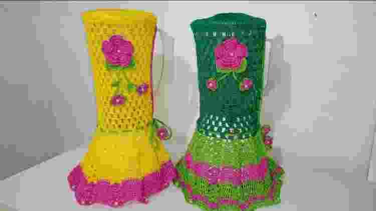 Capas de croché - Reprodução - Reprodução