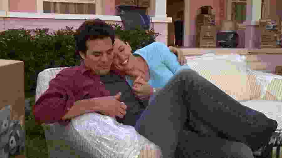 """Mark Ruffalo e Jennifer Garner em cena do filme """"De Repente 30"""" - IMDB"""