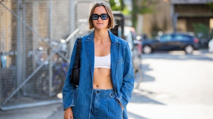 Como vamos usar o jeans neste ano? Gucci, Dior, Balenciaga, Chanel e Celine dão pistas sobre as principais apostas - Christian Vierig/Getty Images