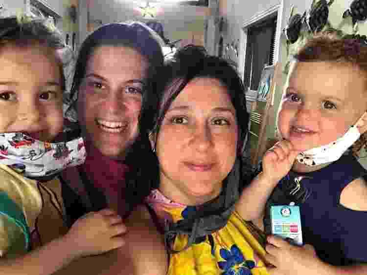 Marcela Branco familia - Arquivo pessoal - Arquivo pessoal