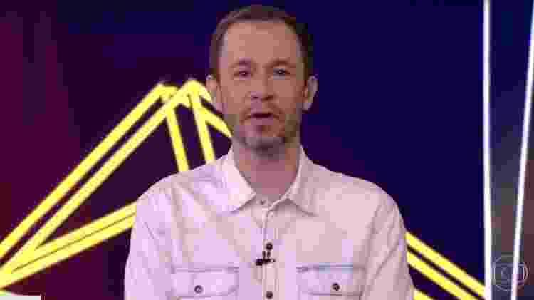 Tiago Leifert no comando do BBB 21 - Reprodução/Globoplay - Reprodução/Globoplay