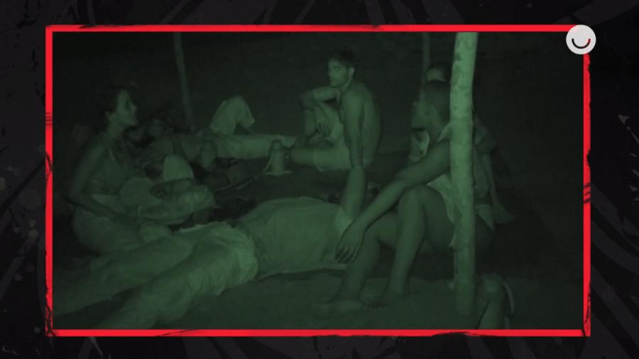 No Limite: Angélica faz desabafo em papo com tribo Calango na primeira madrugada - Reprodução/Globoplay