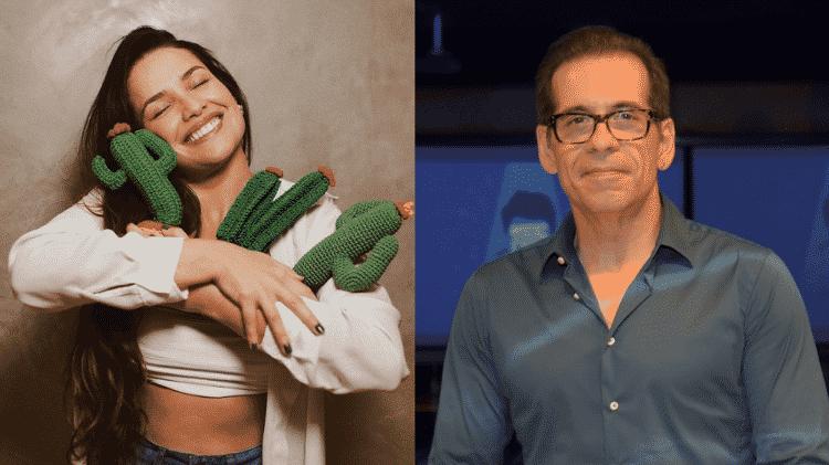 """Leandro Hassum chamou Juliette, do """"BBB 21"""", para participar de filme dele - Reprodução/Instagram - Reprodução/Instagram"""