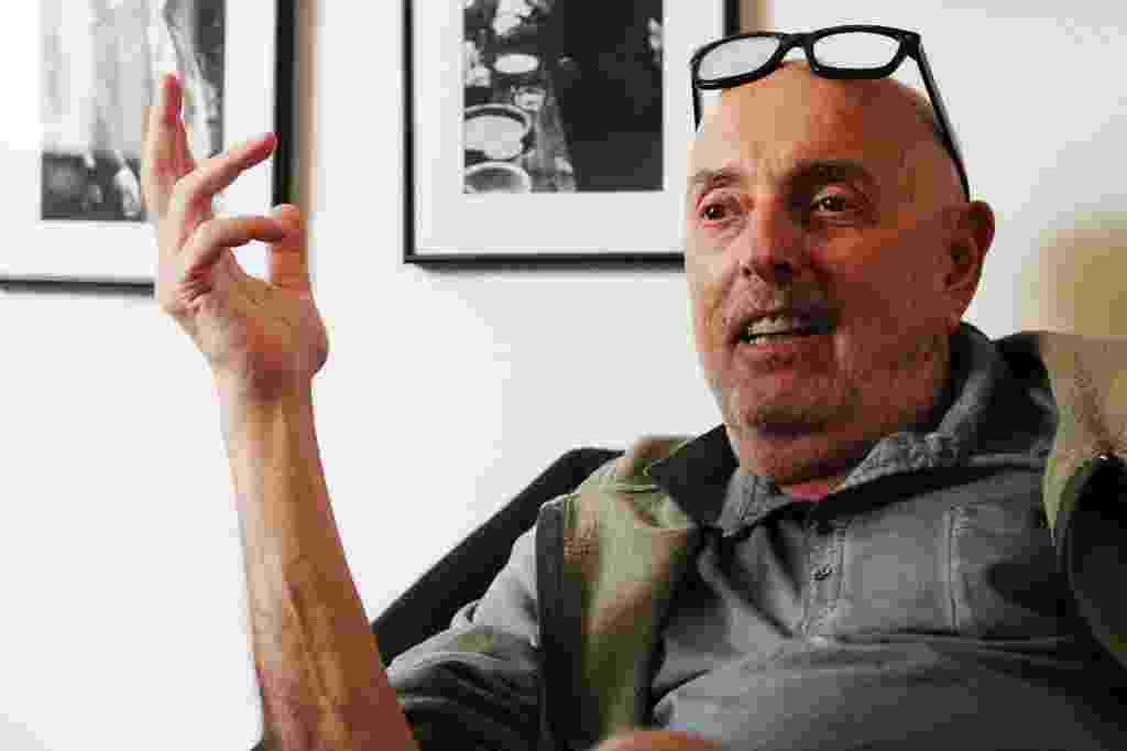 """20.out.2015 - O cineasta Hector Babenco, que após oito anos lança seu novo filme, """"Meu Amigo Hindu"""", na 39ª Mostra Internacional de Cinema de São Paulo - Junior Lago/UOL"""