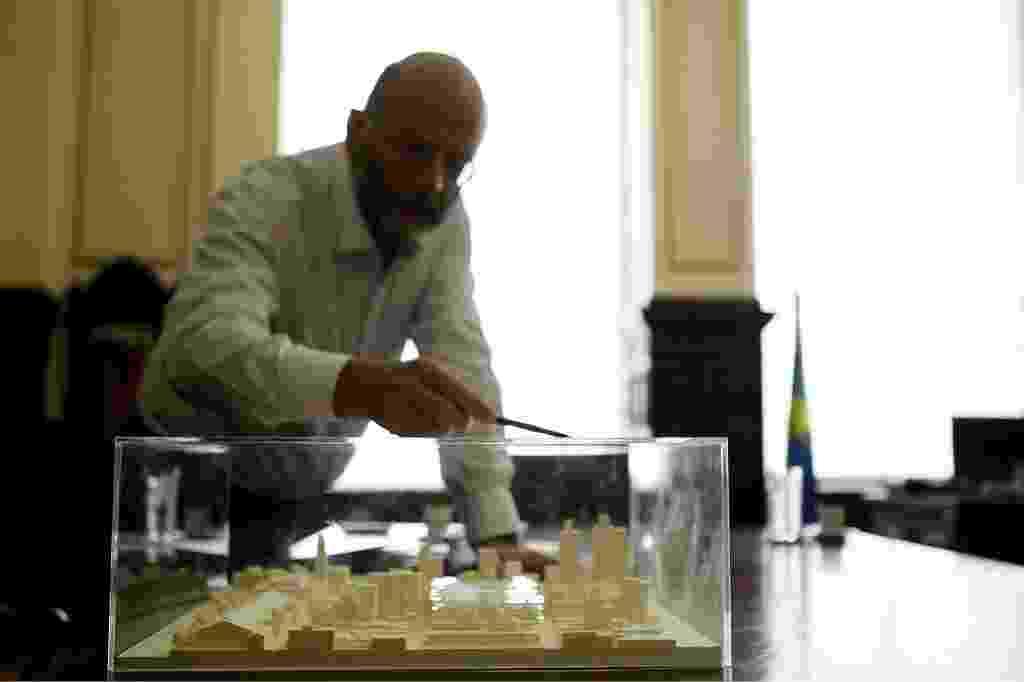 O Tribunal de Justiça de São Paulo condenou o ex-secretário Estadual de Cultura de São Paulo João Sayad pela contratação irregular, em 2009, de um dos maiores escritórios de arquitetura do mundo, Herzog & De Meuron Architekten AG - Eduardo Knapp/Folhapress