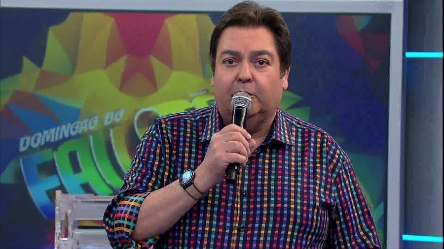 """Faustão presta homenagem a Jerry Adriani, """"um dos cantores mais queridos"""" - Reprodução"""