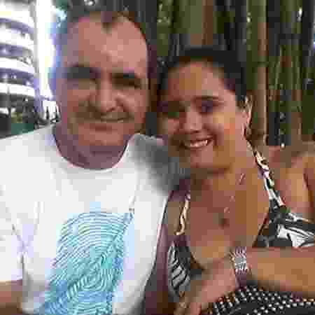 Andrea Schalken e o marido Fred Schalken - Arquivo pessoal - Arquivo pessoal