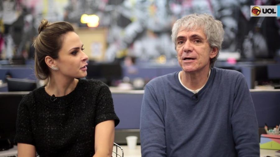 """Ana Paula Renault e Mauricio Stycer vão comentar o """"BBB18"""" - Reprodução/TV UOL"""