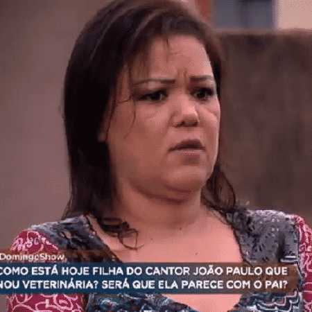 Viúva do cantor João Paulo fez faculdade de direito para proteger bens da família - Reprodução/TV Record